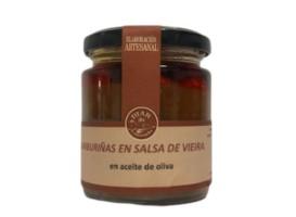 Zamburiñas en salsa vieira