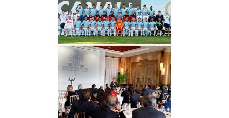 Real Club Celta de Vigo, Hotel Pazo los Escudos y Montechico unidos en un mismo objetivo.