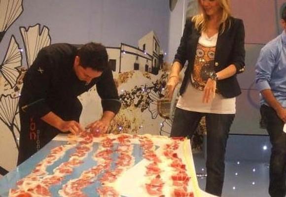 El jamón Montechico Bate el Record Guinness