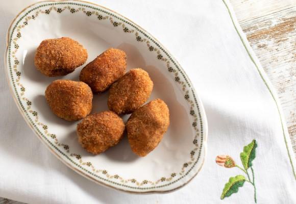Croquetas de jamón ibérico de bellota Montechico